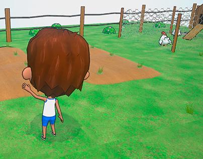 Mi pueblo_Game Art _ 3D Test 2 (W.I.P)