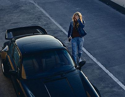 Greta and her Porsche 911 Turbo