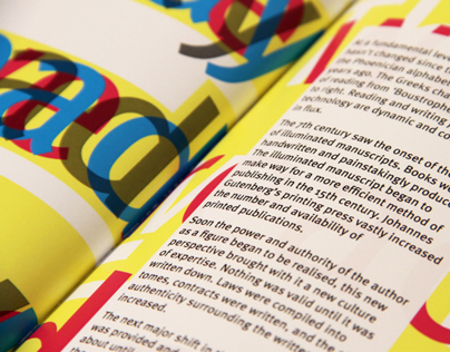 ISTD 2013: The Way we Read Today