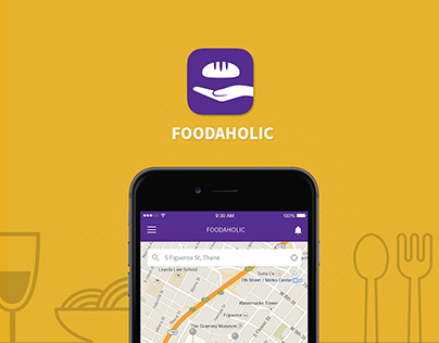 Food Donation App Conecpt-Foodaholic