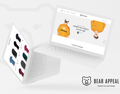 Bear Appeal Web Site Concept Design