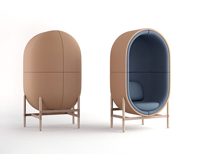 CAPSULE soft seating collection for PALAU