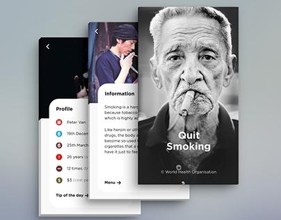 Android UI Design - Quit Smoking