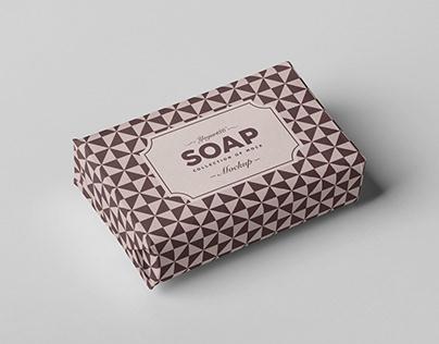 Soap Cube Mock-up