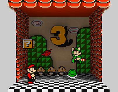 Super Mario Bros 3 D Box