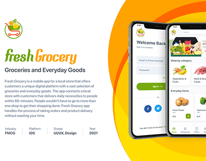 FreshGrocery App