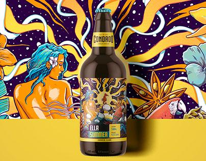 Condado Beer Labels