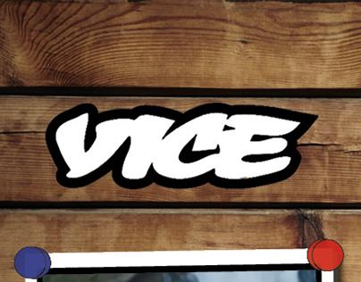 VICE Magazine Layout