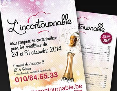 L'incontournable / Flyer
