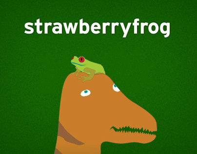 Strawberryfrog Website