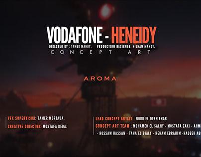 VODAFONE - HENEIDY CONCEPT ART
