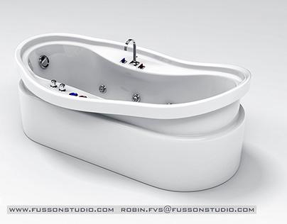 Bathroom Products 3D Studio Renderings