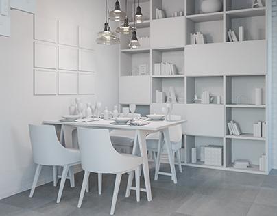 Interior Design / Projekt wnętrz dom Katowice