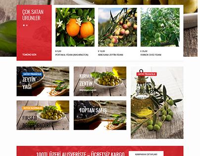 Hatay Fidancılık eCommerce Web Design