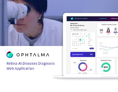 Ophtalma - Medical Web Application