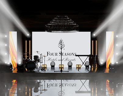 4 Seasons Wedding Stage
