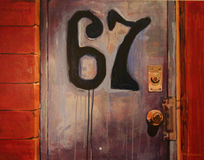 Door Series - Paintings