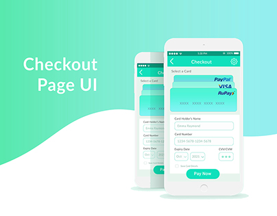 Ckeckout page UI