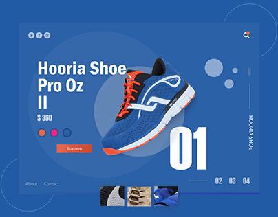 Shoe Website/Shop Design