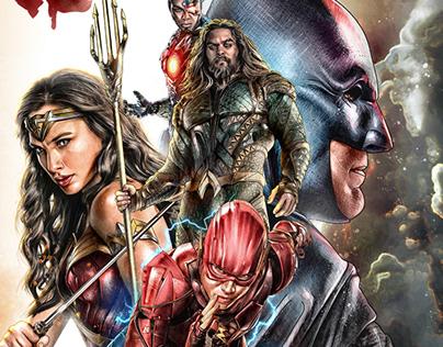 WARNER BROS. / DC COMICS - JUSTICE LEAGUE (2017)