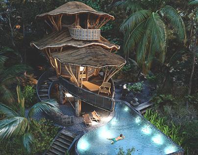 My Architectural Concept-Bali Villa