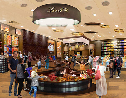 Lindt imaginary chocolate store