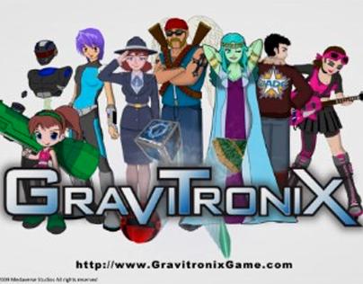 Gravitronix - Chracters