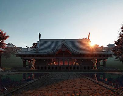 Japan shot #01 ( WIP project )
