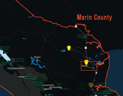 MARIN ROCKS Interactive Interface Design, UX