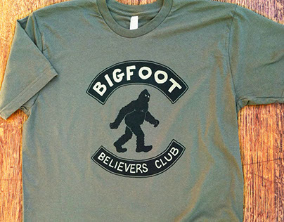 Bigfoot Believers Club T-shirt