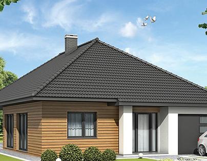 Daktyl - single-family house