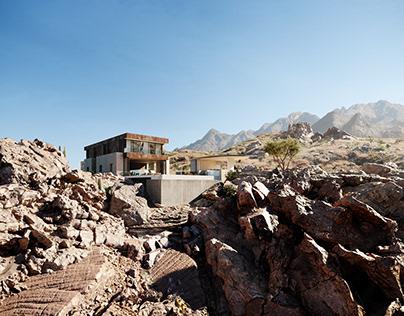 CGI:Ridge mountain residence