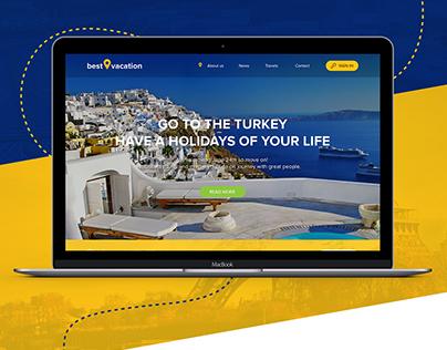 Best Vacation - website