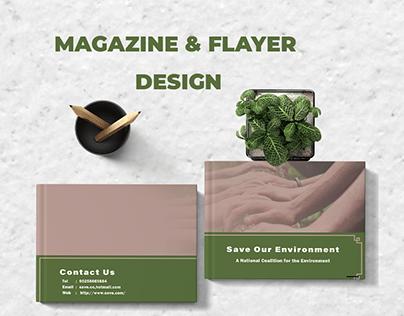 Magazine & Flayer Design