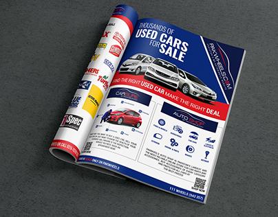 Magazine Ad PakWheels