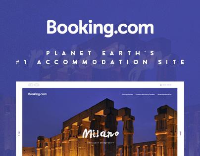 Booking.com | Redesign Concept