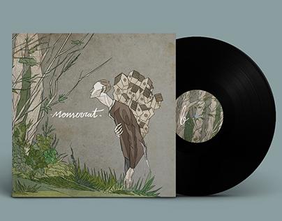 Ilustración y Diseño para el disco de Monserrat.