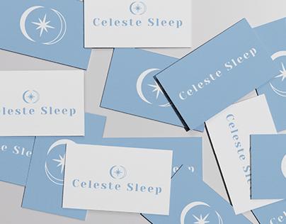Celeste Sleep - Sleepwear Brand Logotype & Identity