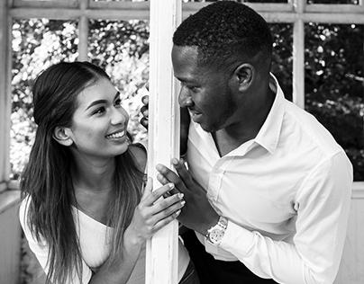 Temi and Suganiya's Engagement Shoot