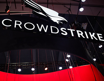 CrowdStrike RSA Booth Redesign