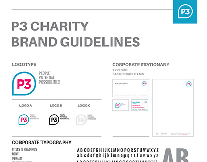 P3 Charity Brand Guidelines