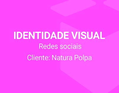 Identidade Visual - Natura Polpa