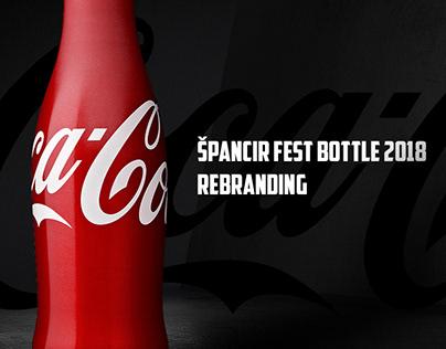 Coca-Cola Special Edition Festival Bottle Rebranding