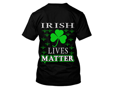irish t-shirt design