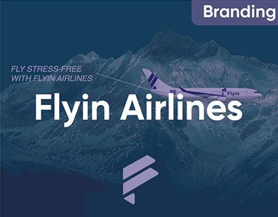 Flyin Airlines : Branding 2021