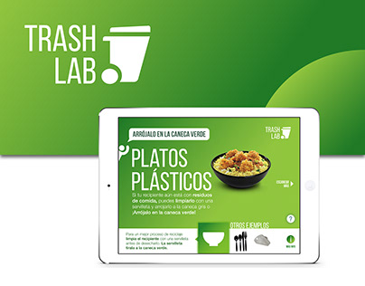 TrashLab • UI Design