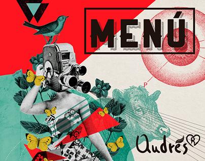 Menú de IndieBo-Andrés®