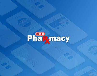 H-E-B Pharmacy Mobile UX/UI