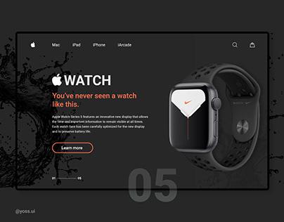 Apple Watch 5 - Concept