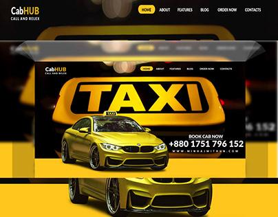 Cab Service Web Site Design